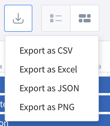PNG roadmap export